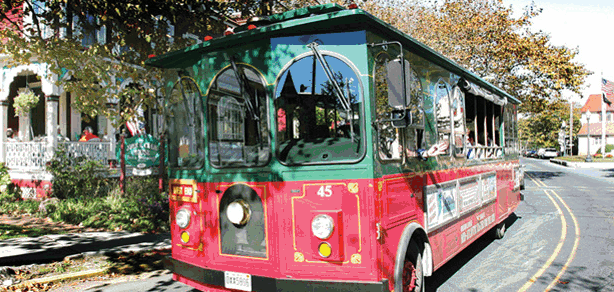 Santa's Trolley Ride